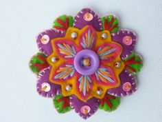 Hey, I found this really awesome Etsy listing at http://www.etsy.com/listing/150611389/colourful-felt-flower-brooch-x