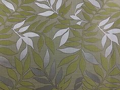 PRESTIGE FABRICS Silver leaves Upholstery Lakes Collectio…