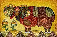 Картины (живопись) : Баран