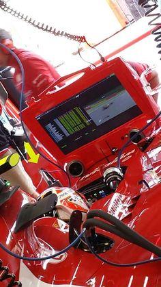 In the Paddock w/Kimi Räikkönen at the 2014 #F1 Belgian Grand Prix