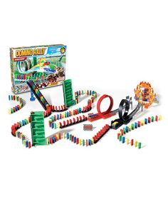 $13.99 Reg. $30.00 ~ Independent Play: Kids' Games up to 65% off Racing Domino Rally Activity Set