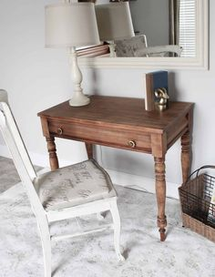 How to Strip Furniture with this Easy Tip Stripping Wood Furniture, Restore Wood Furniture, Annie Sloan Painted Furniture, Furniture Fix, Refurbished Furniture, Home Office Furniture, Handmade Furniture, Repurposed Furniture, Furniture Projects