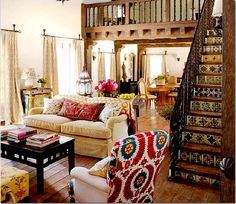 Living Room, from Kathryn Ireland's Mexico meets Morocco collection