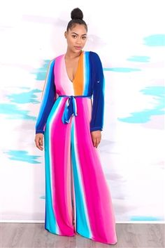 dd598b2645d Rainbow Striped Jumpsuit https   www.larlena.com Rainbow-St