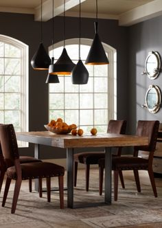 Graham Industrial Dining Table | Zin Home