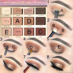 Best Ideas for Makeup Tutorials: Likes, 134 Comments - Tarte Cosmetics . - Make Up - Makeup Makeup Tarte, Drugstore Makeup, Skin Makeup, Eyeshadow Makeup, Makeup Brushes, Blue Eyeshadow, Makeup Geek, Gel Eyeliner, Eye Makeup Steps