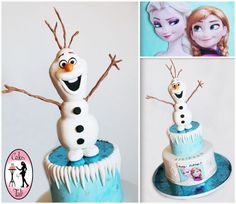 Frozen Disney Cake - CakesDecor