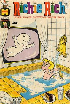 Richie Rich the Poor Little Rich Boy vintage comic book.      ........................................................ Please save this pin... ........................................................... Visit Now!  OwnItLand.com