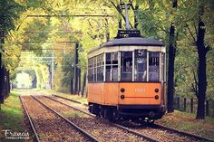 """""""A #lovely #path in #Milan, really close to my to my #house  #tram #Italy #lombardia #city #rail #colorful #streetphotography #travelling #landscape…"""" Street Photography, Paths, Milan, Travelling, Italy, Colorful, Landscape, Instagram Posts, House"""