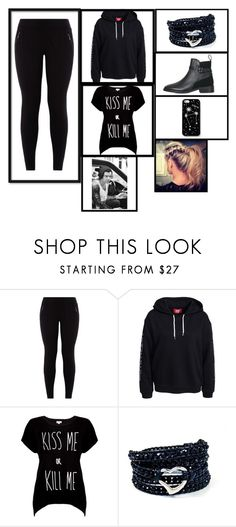 """""""Untitled #8"""" by yayabasil on Polyvore featuring Rotten Roach, AeraVida, Topshop and Kate Spade Saturday"""