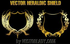Heraldic Shield | Vector Lady