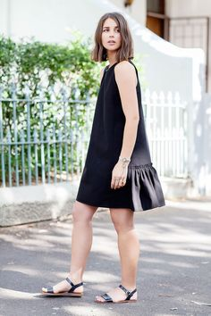 Sara Donaldson of Harper & Harley wears the Ruffle Back Dress