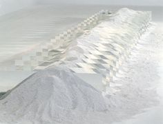 Robert Smithson, Mirror and Shelly Sand, 1970