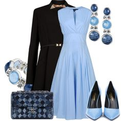 """PLACID BLUE"" by savaltor on Polyvore"