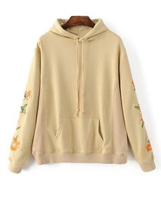 ec72d6d8 Floral Embroidered Hoodie #Sweatshirts #Fashion #Womens #Women #Palomino  Organza Dress,