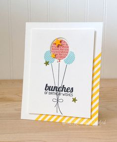 bunches of birthday wishes Lil Inker Designs by Kimberly Crawford by kimberlykscrawford, via Flickr