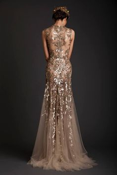This dress is amazing! Evening Dresses | Krikor Jabotian Akhtamar Collection