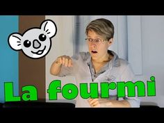 """la chanson signée :"""" la fourmi m'a piqué la main"""" French Class, Signs, Education, News, Youtube, Baby Sign Language, French Kids, Nursery Rhymes Songs, French Lessons"""