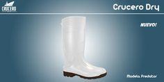 "Conoce la bota ""Predator"" con 38cms de altura Forros: Calceta textil antimicótica"