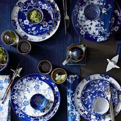 Japanese Garden Dinner Plates, White, Set of 4 Asian Home Decor, Diy Home Decor, Japanese Table, Japanese Plates, Japanese Party, Japanese Dinner, Japanese Chopsticks, Bedroom Minimalist, Plan My Trip