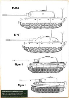 """"""" German heavy tank development, the E-series being a too late attempt at standardizing all german tanks. The herself was also meant to be a Maus alternative, but only a partially build chassis was made before the war's end. Military Gear, Military Equipment, Military History, Army Vehicles, Armored Vehicles, Luftwaffe, Scale Model Ships, Tiger Tank, Tank Destroyer"""