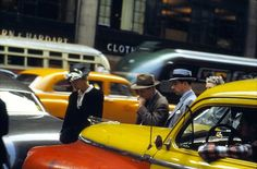 NYC photographed by Ernst Haas