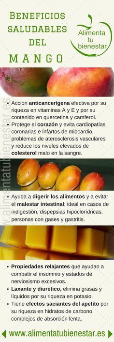 Beneficios saludables del mango