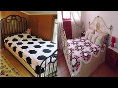 4097142511dc CORTINA Y PERCIANAS TEJIDAS A CROCHET PARA VENTANAS - YouTube Blankets