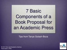 Dissertation book proposal