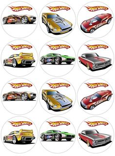 Thank you for further inquiry. You are purchasing an edible image on icing sheet of Hot Wheel Cars cupcake/cookie toppers 6 9 12 15 inch 1 (please select which image or I will choose if non given) 1 (please select which image or I will choose if non Hot Wheels Birthday, Race Car Birthday, Race Car Party, Cars Birthday Parties, Birthday Cake, Bolo Hot Wheels, Hot Wheels Cake, Hot Wheels Party, Imprimibles Hot Wheels