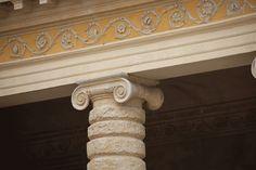 Ionic capital of Villa Serego (or Sarego) in Santa Sofia di Pedemonte by Palladio