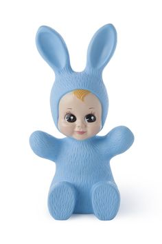 Baby Bunny lamp - blue - the KID who