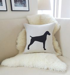 Hey, I found this really awesome Etsy listing at https://www.etsy.com/listing/167030741/german-shorthaired-pointer-pillow-cover