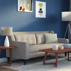 Langley Street Ponderosa Mid Century Sofa & Reviews | Wayfair