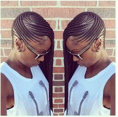 Chic Braided Beauty IG:@pistolsandcurls08 Stylist:@conteh_hair_braiding #naturalhairmag
