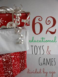 Educational Toys and Games for Kid's Gifts