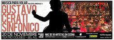 Gustavo Cerati sinfónico junto a 50 artistas en escena   Homenaje a uno de los artistas más prestigiosos de Latinoamérica con más de 50 músicos en escena.  El domingo 20 de noviembre a las 20:00 hs. el grupo rosarino Música Para Volar presenta en el Teatro Coliseo de Buenos Aires su espectáculo Gustavo Cerati Sinfónico homenaje a uno de los artistas más prestigiosos de Latinoamérica.  El espectáculo llega a Buenos Aires luego de sus exitosas presentaciones en el Teatro El Círculo y en el…