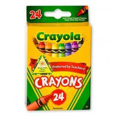 crayola® 24 ct crayons