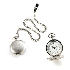 An elegant gift for groomsmen, the father of the bride or any man who appreciates the classic look of a pocket watch. The engraved cover. Classic Wedding Gifts, Gifts For Wedding Party, Wedding Stuff, Wedding Ideas, Dream Wedding, Wedding Wishes, Wedding Trends, Party Gifts, Quartz Pocket Watch