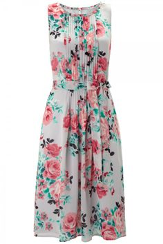 Monsoon ✿ Floral Garden Party Dress.
