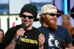 Bam Margera and Ryan Dunn. R.I.P.