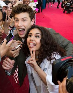 Shawn Mendes and Alessia Cara 2016