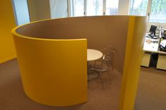 Working-Cocoon idea architectured by Cléram Office Design.   #style #design #bureau #architecture #aménagement #workspace #coolworking #interior #deco #Cléram #art #office #idea #cocoon #privée #working #Accor #privatespace
