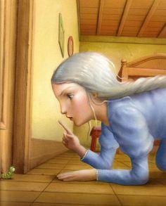 Nicoletta Ceccoli Wallpaper | ... de Nicoletta Ceccoli / The girl with white hair by Nicoletta Ceccoli