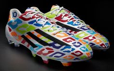 Messi adiZero F50 Birthday Edition I truly don't know what to say about these cleats I liked the messi color crayon idea and the lepard one but combined idk.