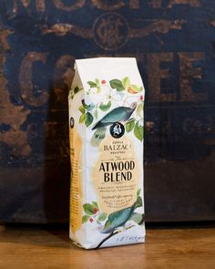 Atwood Blend ~ Amber Roast Organic Coffee ~ This Bird Friendly® blend of South and Central American varietals exudes distinct notes of caramel and cocoa, while maintaining a balance of acidity and body. The end result is a smooth and satisfying brew.