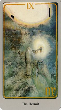 Look for the light in the darkness .. For I am your guide .. I shall lead the way for I will teach you many things ... For this open your spirit Major Arcana Cards, Tarot Major Arcana, Tarot Card Decks, Tarot Cards, Gandalf, Yule, The Hermit Tarot, Online Tarot, Tarot Astrology