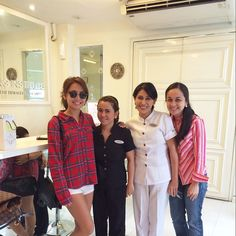 Thank you to the staff of #theaiveeinstitute especially to ate laita (not in the pic) for taking good care of me!  #theaiveeinstitute // @bernardokath
