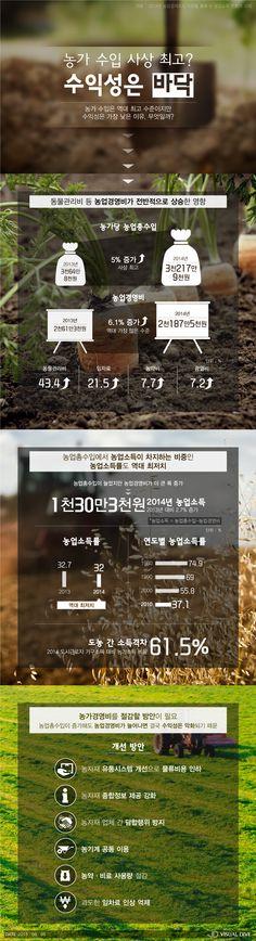 농가 수입 '최고' 수익성은 '바닥' 왜? [인포그래픽] #Farm / #Infographic ⓒ 비주얼다이브 무단 복사·전재·재배포 금지
