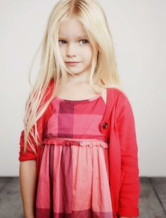 shades of red, so lovely.  #designer #kids #fashion